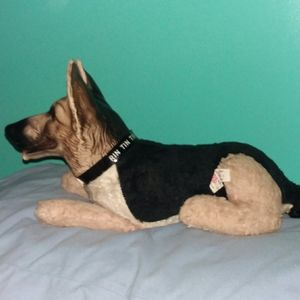 Vintage Rin Tin Tin Dog Ideal Plush Toy